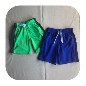 5/$10 2 Carter's athletic shorts boys 3T
